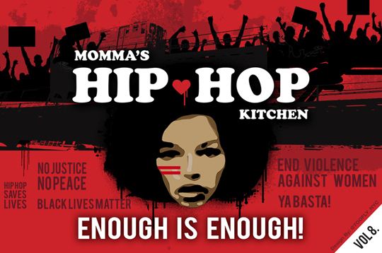 Mommas Hip Hop Kitchen Flyer Design