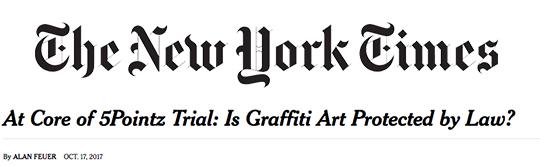 New York Times 5Pointz copy