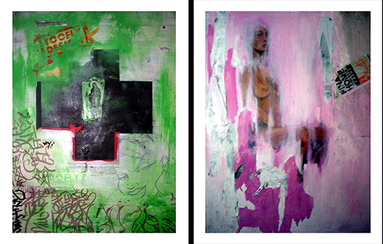 Toofly Deconstructed Paintings
