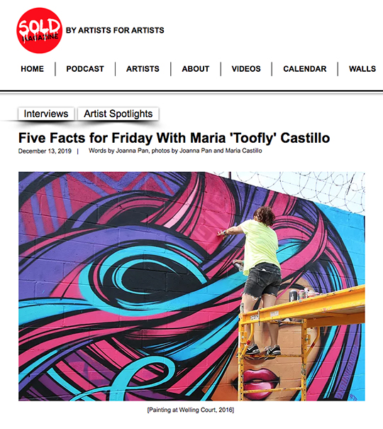Toofly Interview Sold Magazine