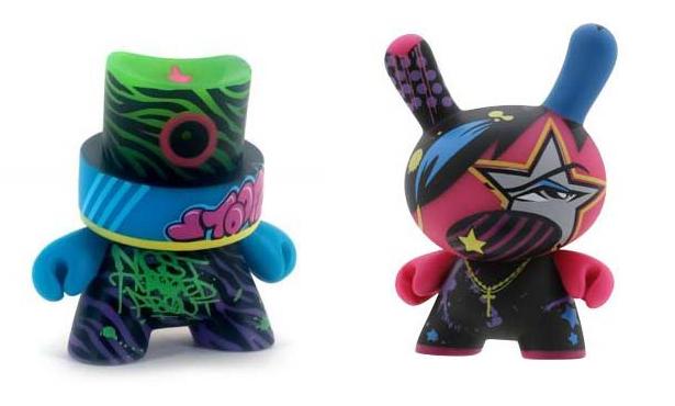 Toofly Kidrobot figures