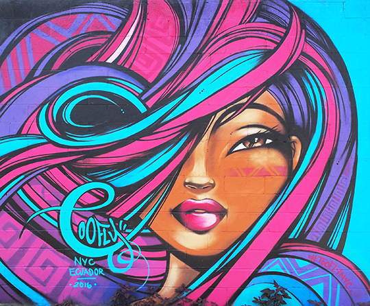 Toofly Welling Court Mural Project 2016