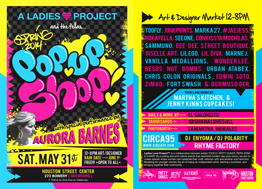 ladies Love Project Flyer
