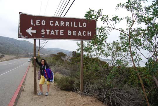 Carillo Beach Izzy