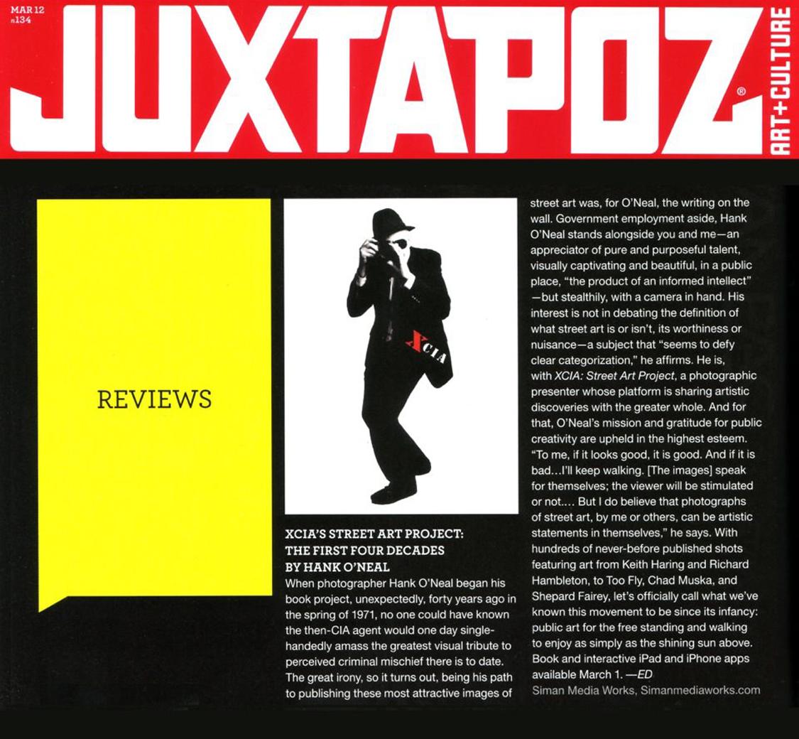 TOOFLY NYC » JUXTAPOZ MAGAZINE – XCIA BOOK REVIEW