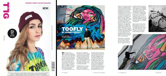 Toofly_TLG Magazine 2013
