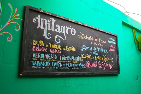 Milagro Punta Negra Peru