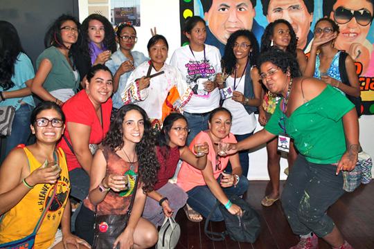 Nosotras Estamos Caller Peru espana