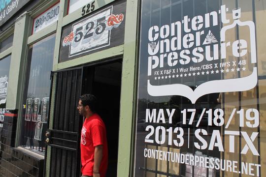 Content Under Pressure