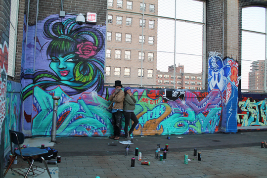 Werds X Toofly Rooftop Legends 2013
