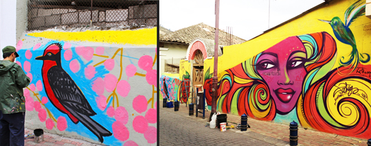 Quito Ecuador Street Art