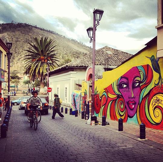 Toofly Street Art Quito Ecuador