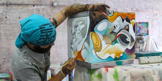 BK Artist redbull