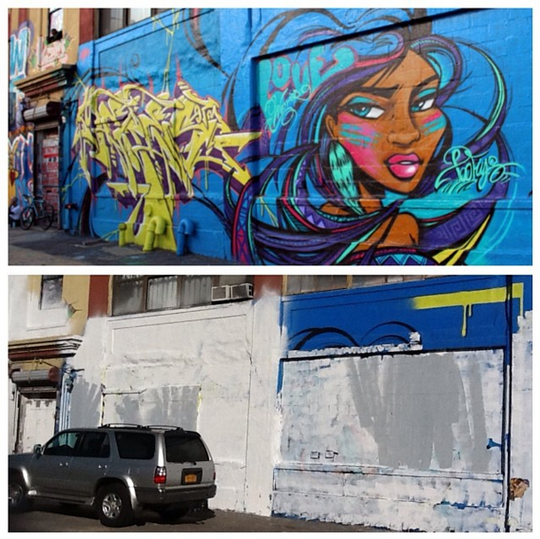 5Pointz Toofly Whitewash