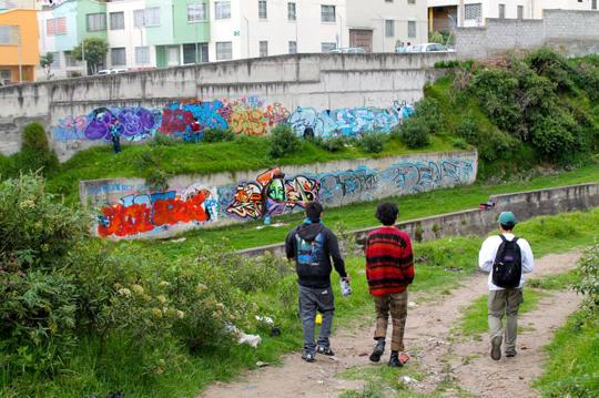 Ecuador Graffiti