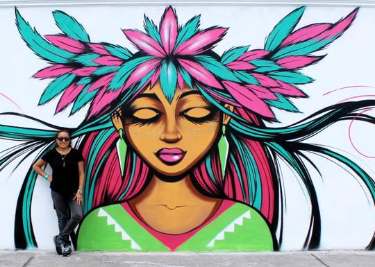 Toofly Atuntaqui Wall 2014