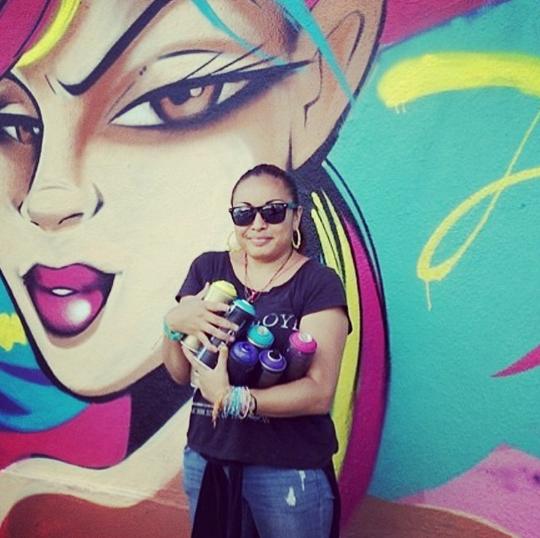 Toofly Nyc Women Street Artist
