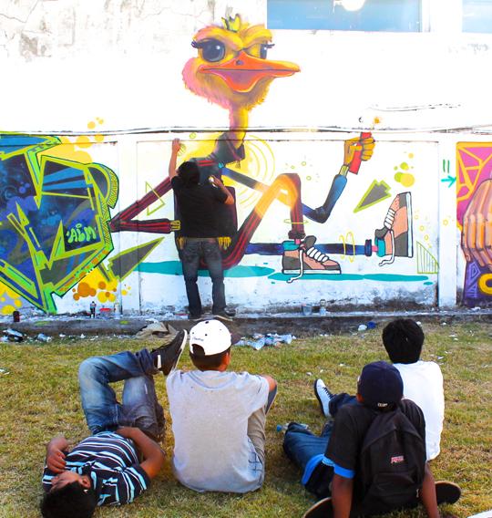 Paint Quito Ecuador Detonarte