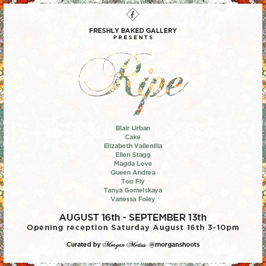 Ripe freshly Backed Gallery