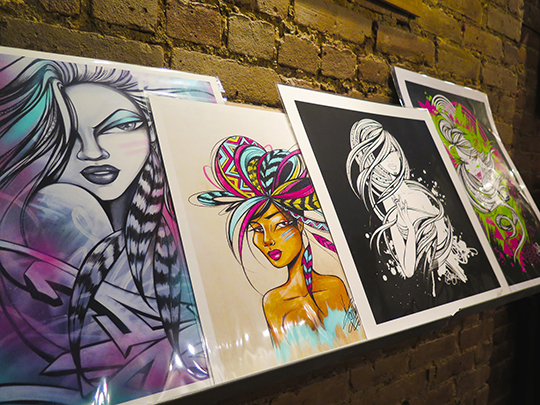 Toofly Giclee Prints Pop Up Shop NYC