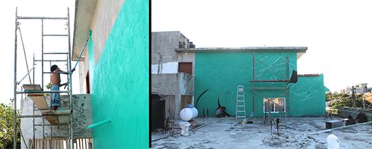 wall process