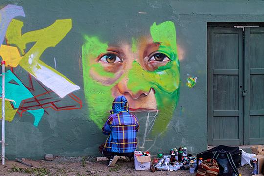 Atuntaqui Ecuador Graffiti