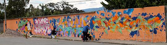 Atuntaqui Graffiit Ecuador