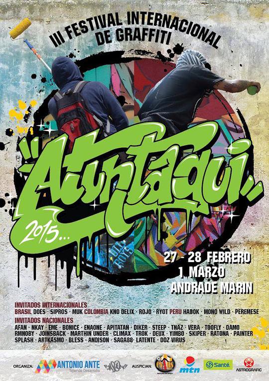 Atuntaqui grffiti ecuador festival
