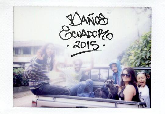 Polaroid Banos Ecuador