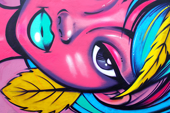 Toofly Ecuador Graffiti