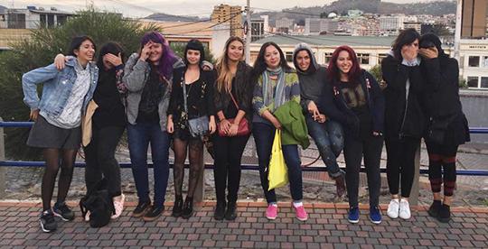 Warmi Paint 2015 Quito Ecuador