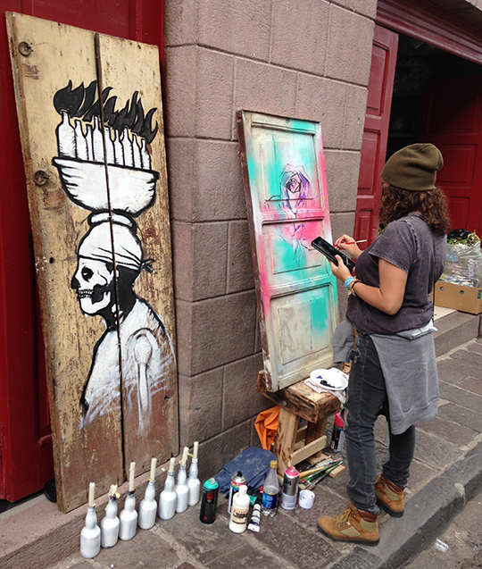 Toofly Quito Arts Walk