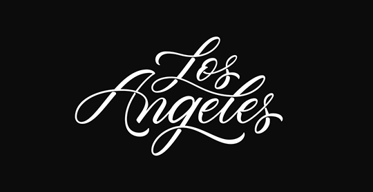 Los Angeles_Type not by me