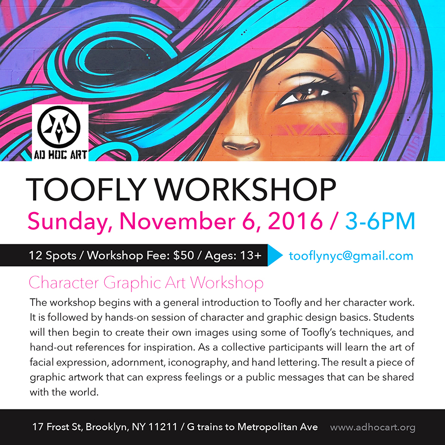 Toofly Workshop 2016_web
