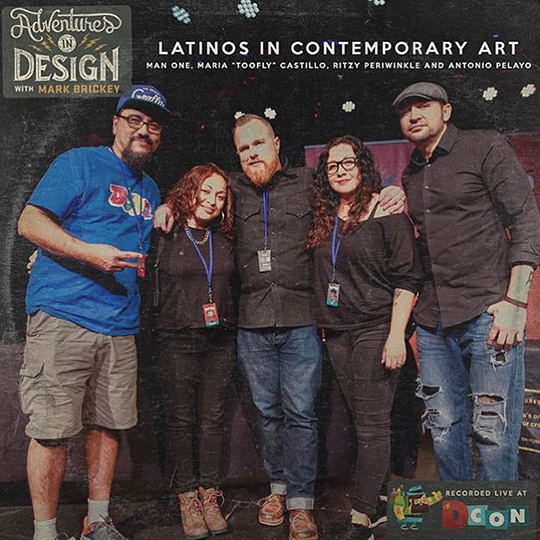 Latinos in Contemporary Art DCON