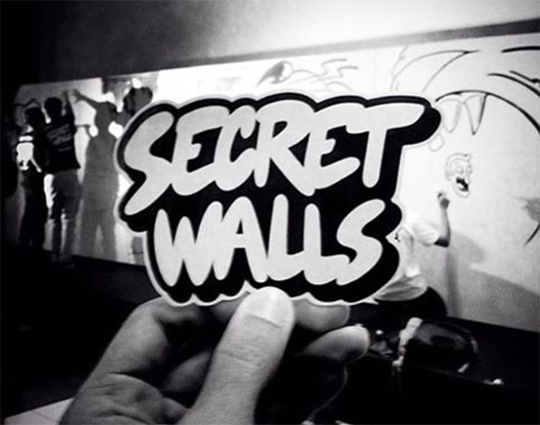 Secret Walls Toofly kano