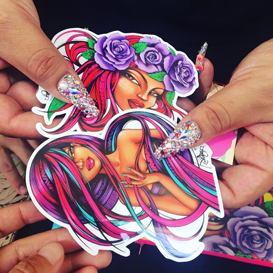 Toofly Stickers Die Cut