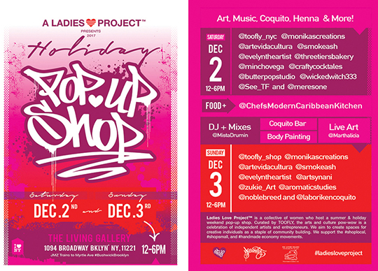 Ladies Love Project 2017