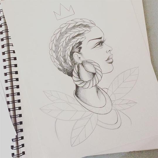 Toofly Reinas Sketch