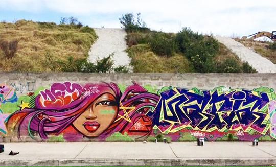 Grafftii Mujer Quito