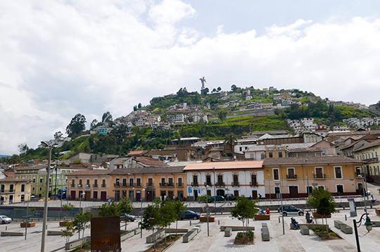 Quito Ecuador Panecillo