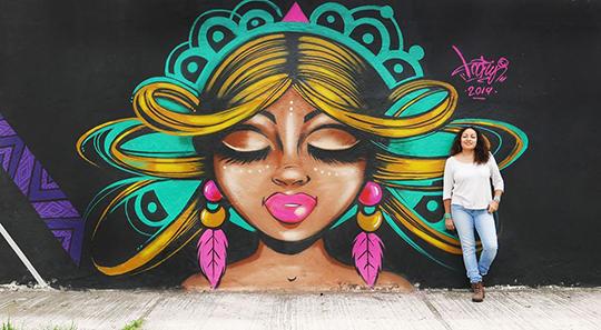 Toofly Ecuador Graffiti Street Art