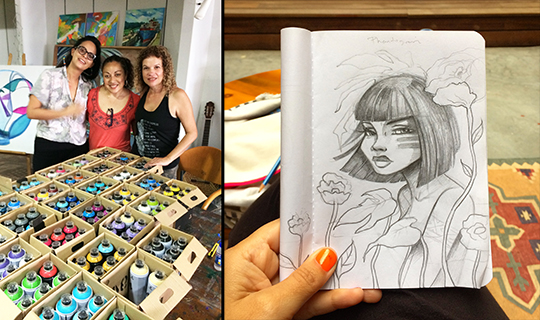 Toofly Sketches Panama