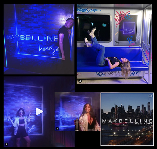 Maybelline House Pop-Up NYC 2019