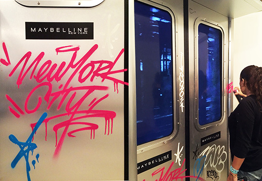 Maybelline House Toofly Graffiti-2