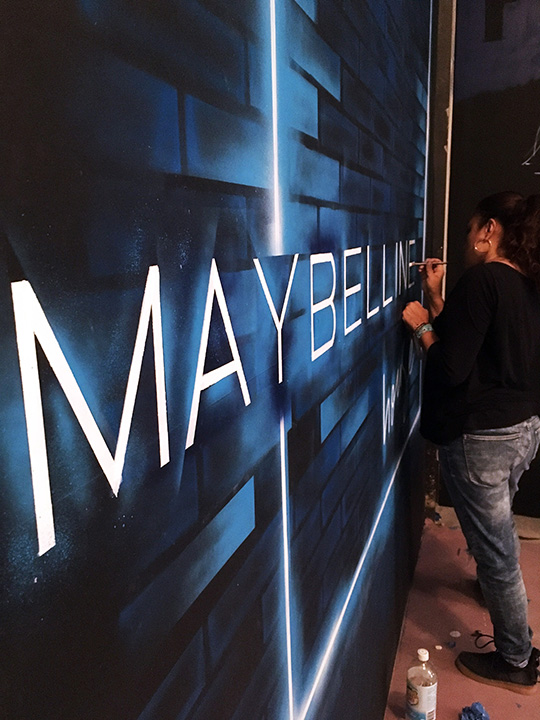 Maybelline Installation Toofly-2