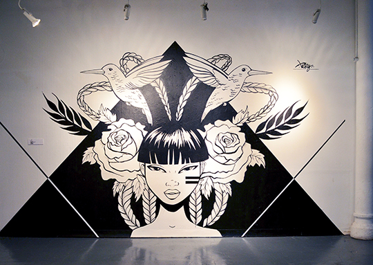 Toofly Gallery Wall Installation