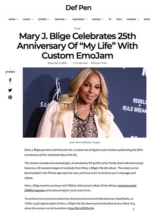 Mary J Blige Def Pen_Emojam